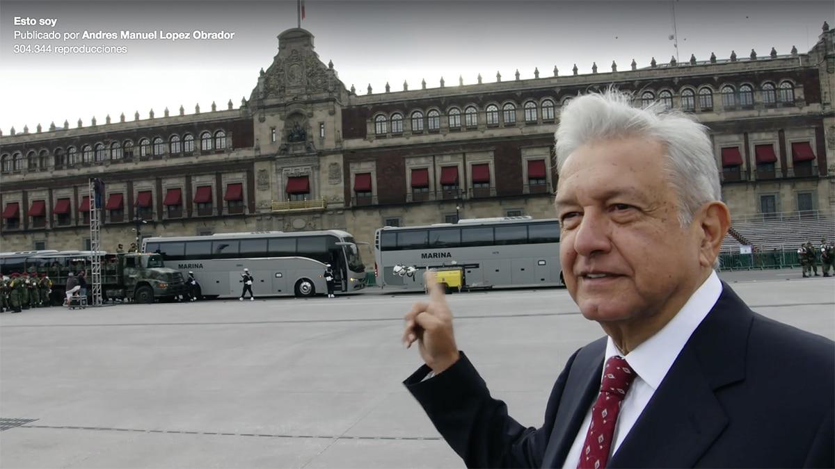 AMLO defiende a Barbosa en Pahuatlán: