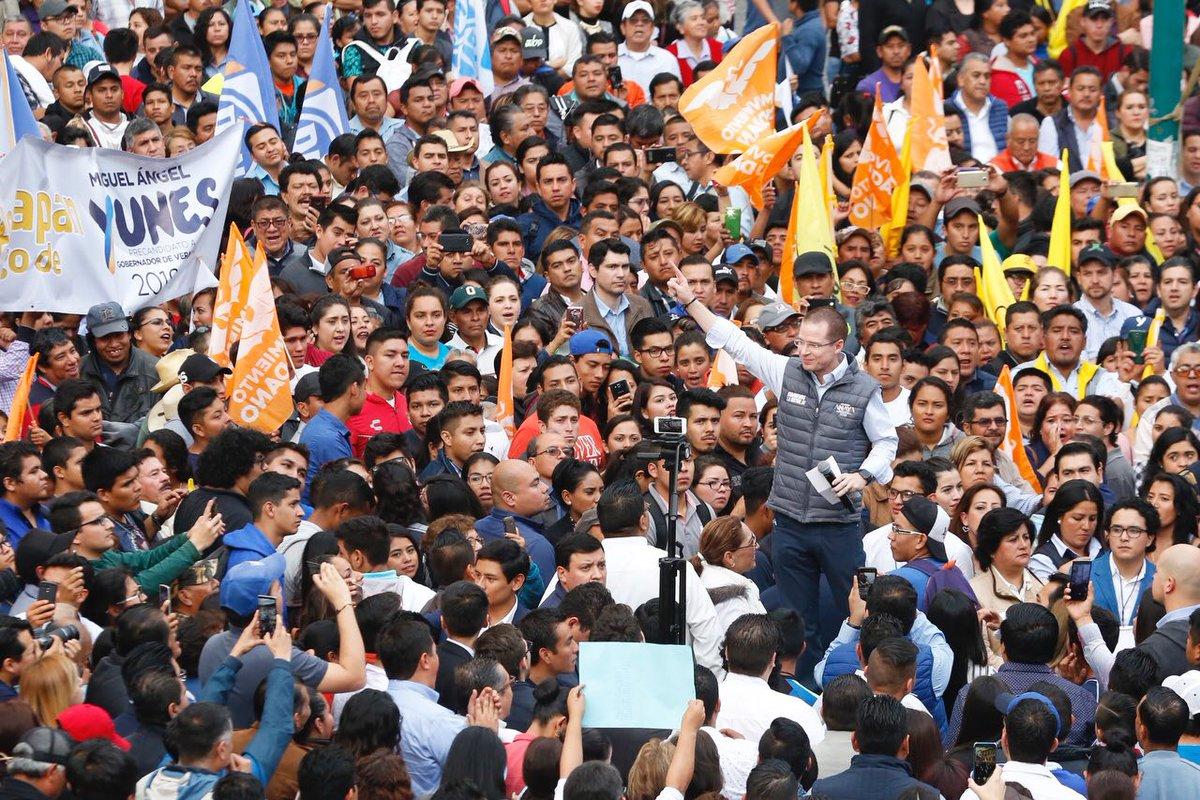 Exige Anaya a Peña sacar las manos del proceso electoral