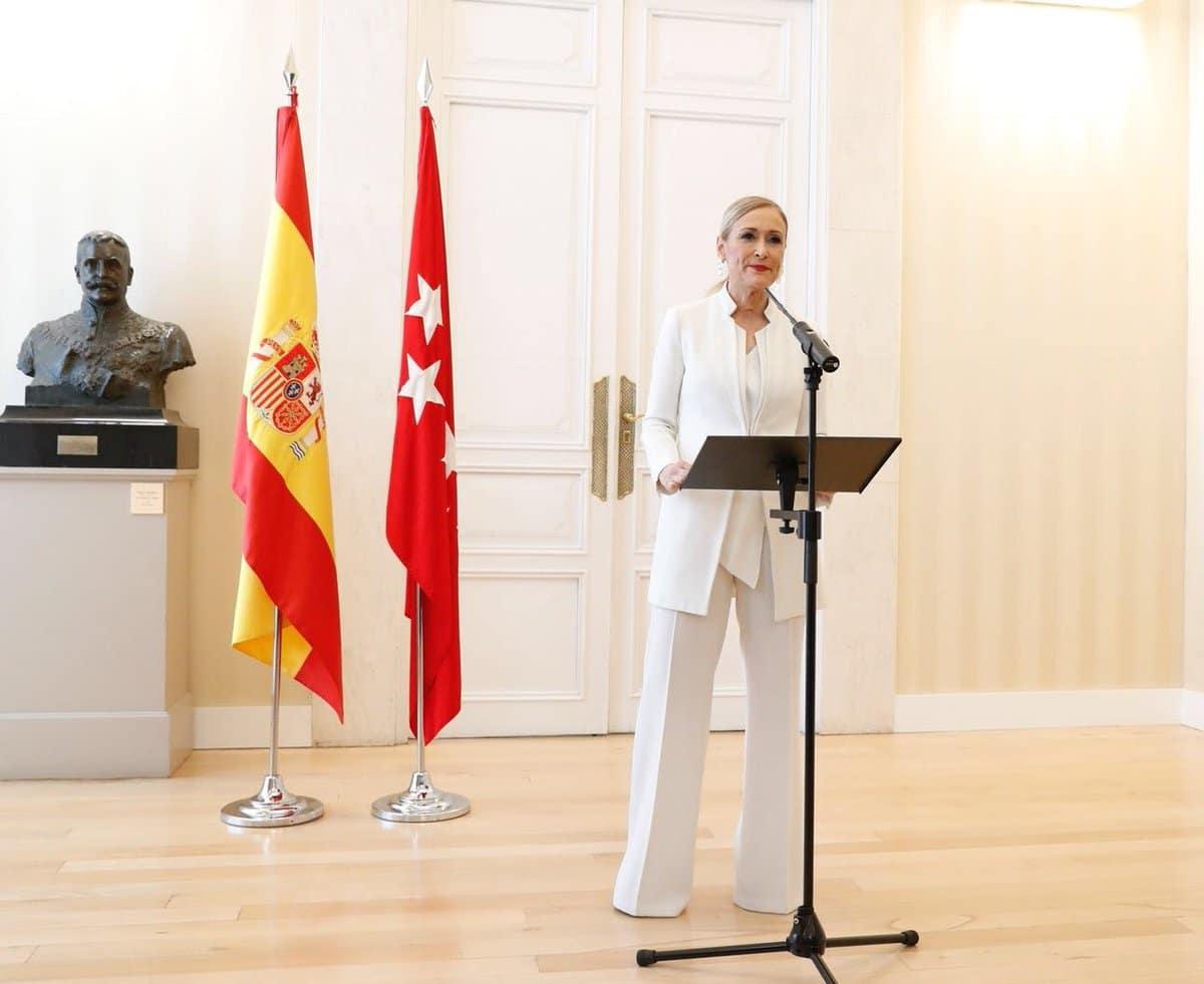 Cristina Cifuentes diputada presidenta PP Madrid