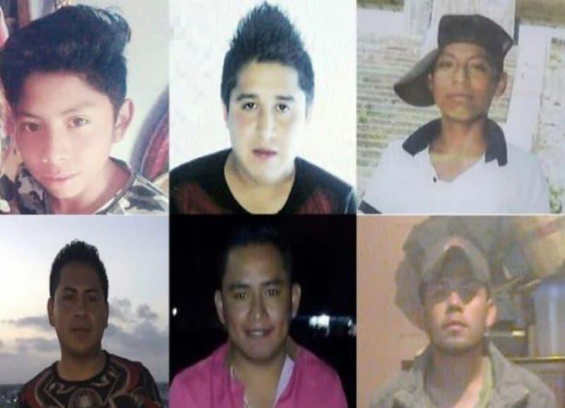 jóvenes de Tlaxcala desaparecidos en Oaxaca Temascal