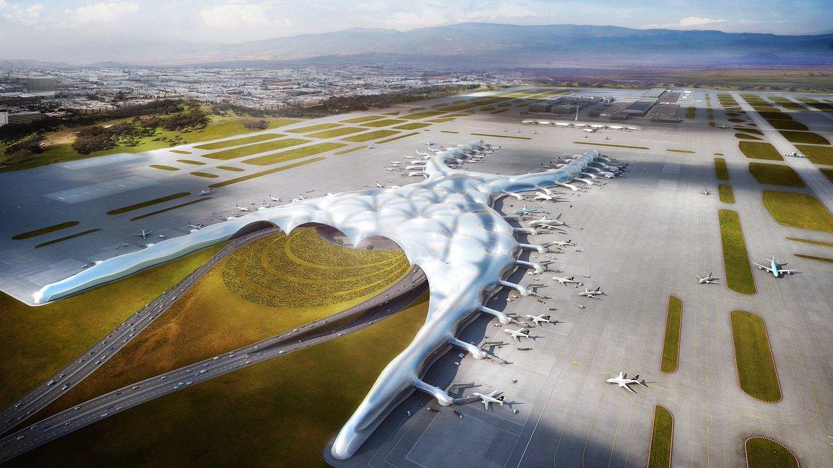 Nuevo Aeropuerto Internacional de la Ciudad de México (NAICM)