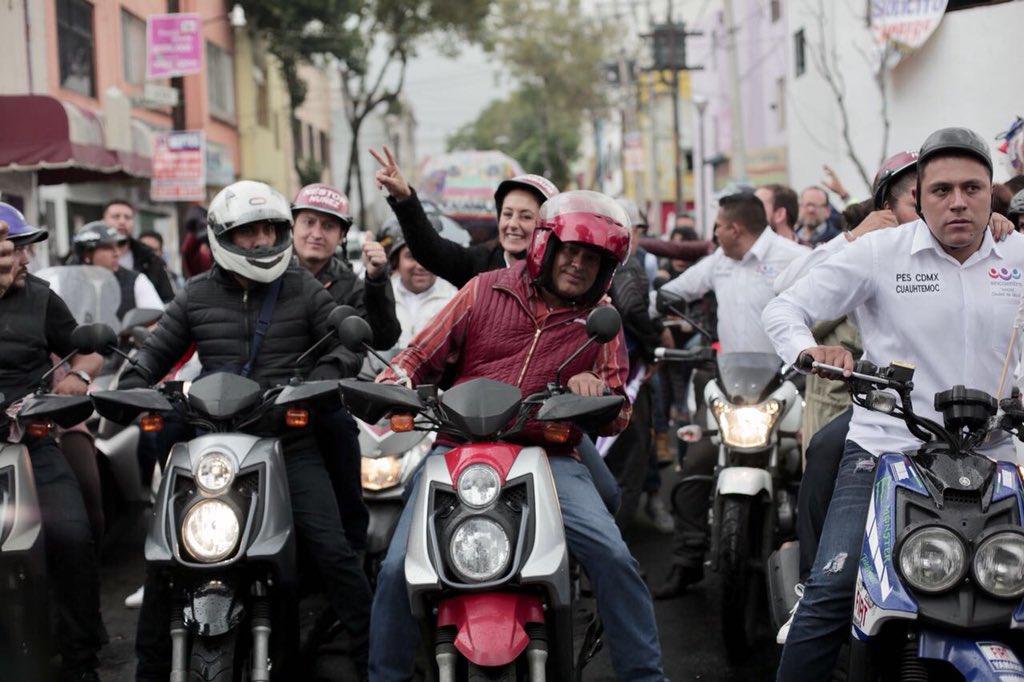 Claudia Sheinbaum en Tepito Morena lidera encuestas