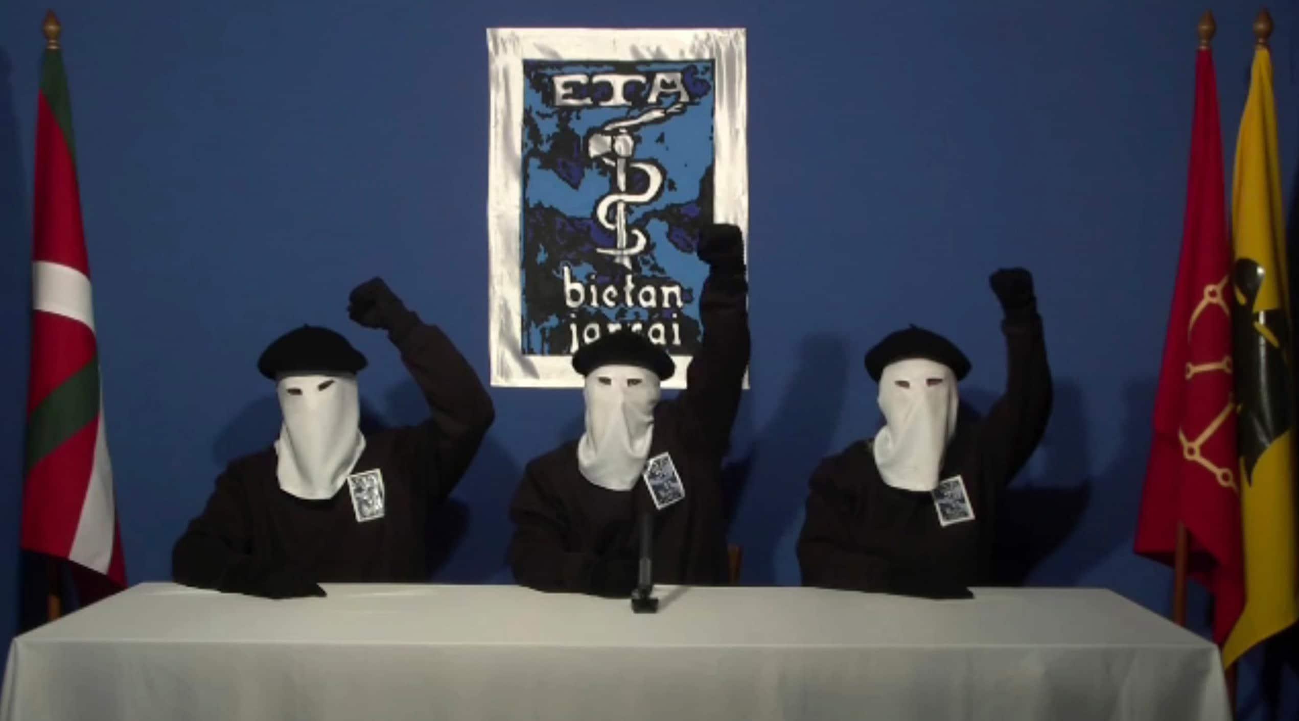 ETA TIME disolucion organizacion terrorista