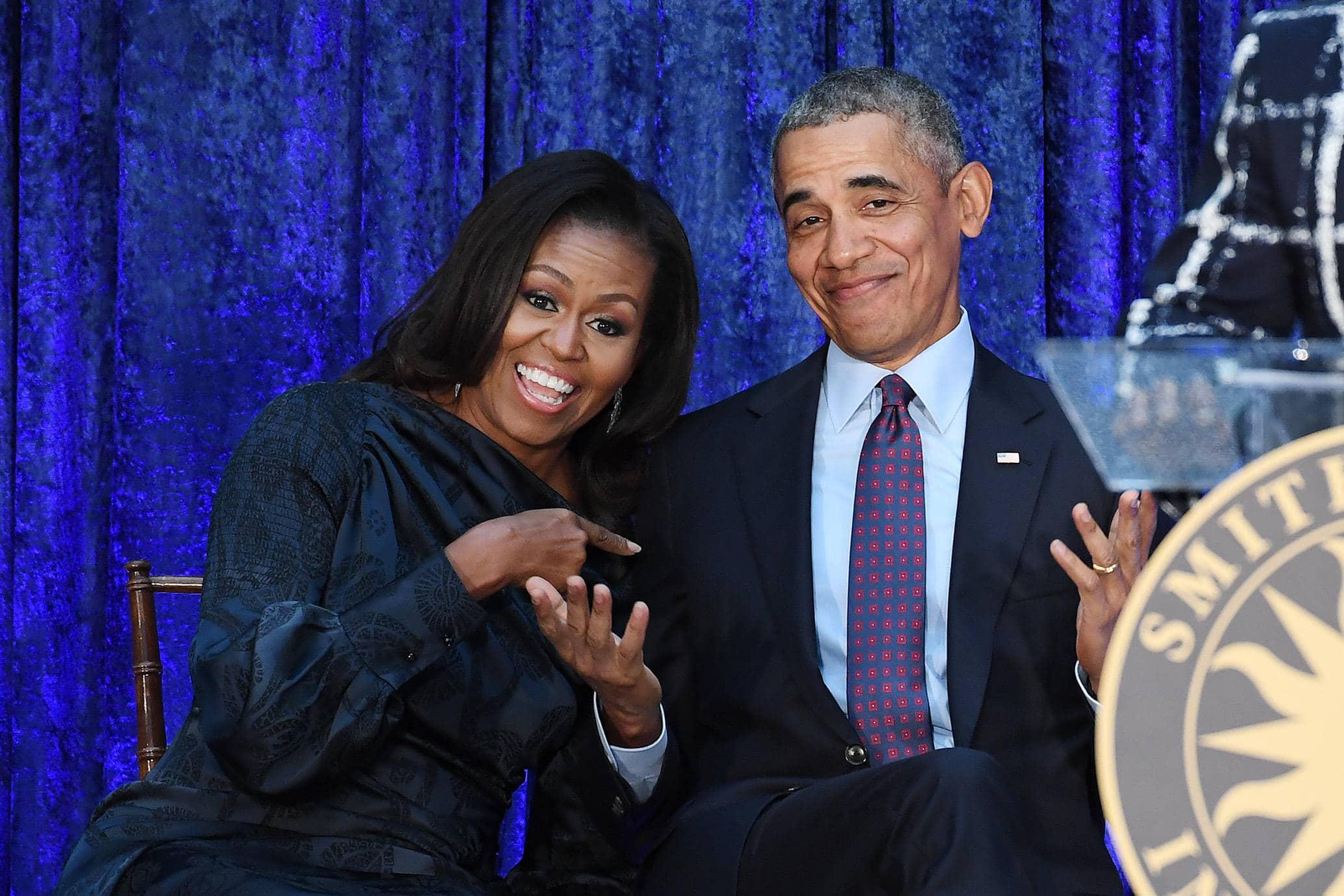 Barack Michelle Obama contrato Netflix