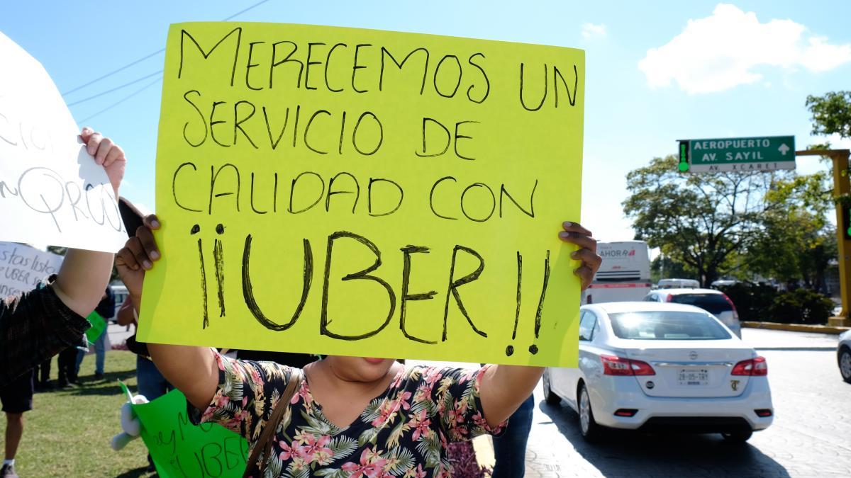 ley de movilidad permite usar uber quintana roo