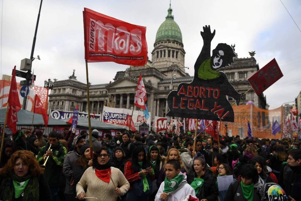 despenalizar el aborto en Argentina