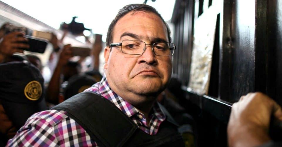 Javier Duarte nueva orden de aprehensión por desaparición forzada