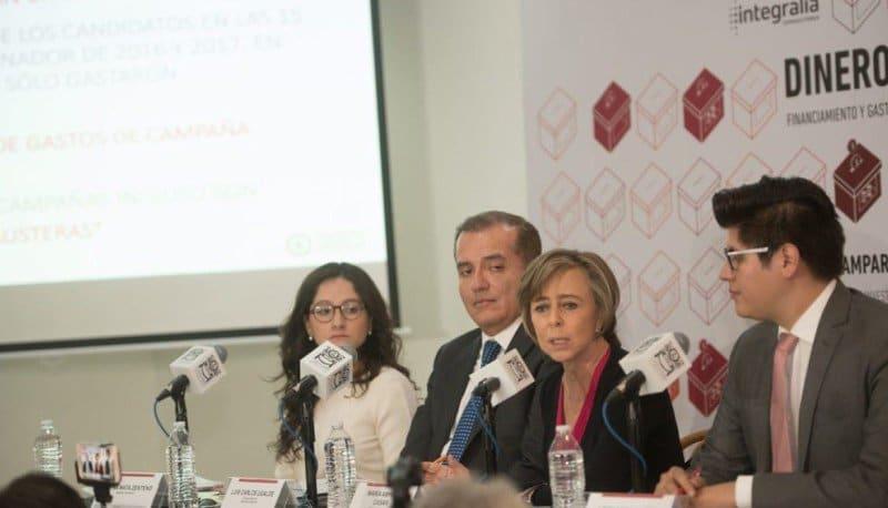 dinero ilegal en campañas mexicanos contra la corrupción impunidad