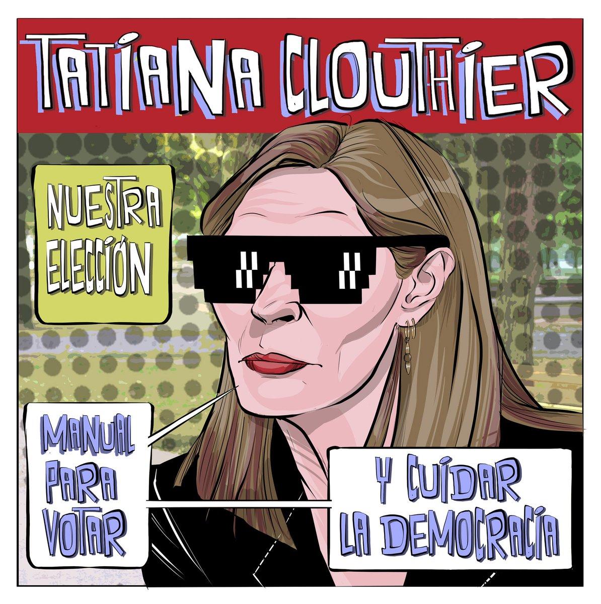 Manual para votar de Tatiana Clouthier para evitar fraudes