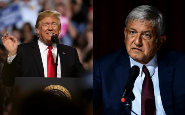 Trump se portó bien: López Obrador