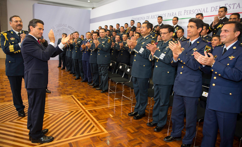 EPN y Calderón gastaron 132 millones en seguridad aparte del EMP