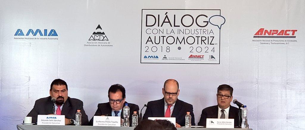 industria automotriz respalda proyecto de refinerías