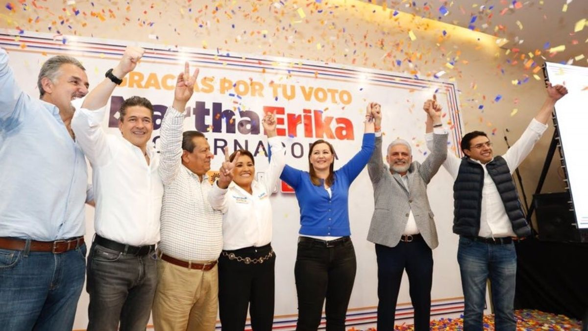 Gana Martha Erika Alonso la gubernatura de Puebla