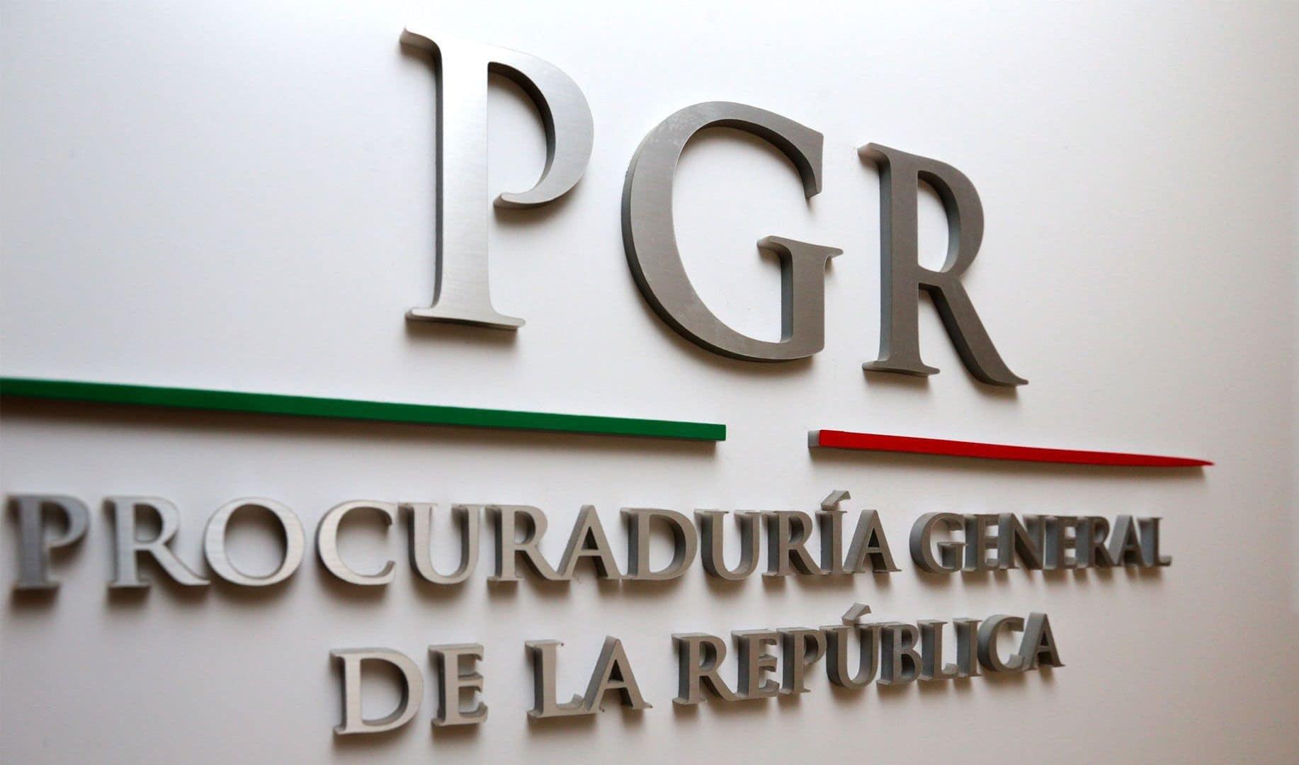 PGR desvío de recursos
