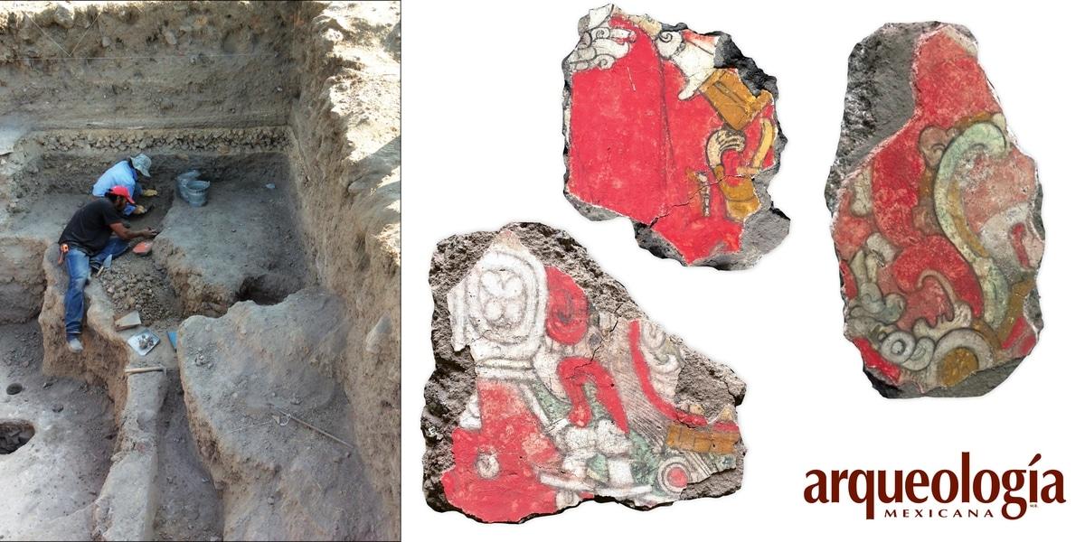 Fragmentos de teotihuacán.