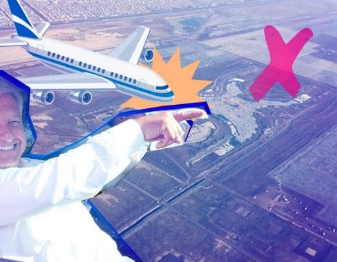 Confirma Amlo El Aeropuerto Se Hara En Santa Lucia Y Estara