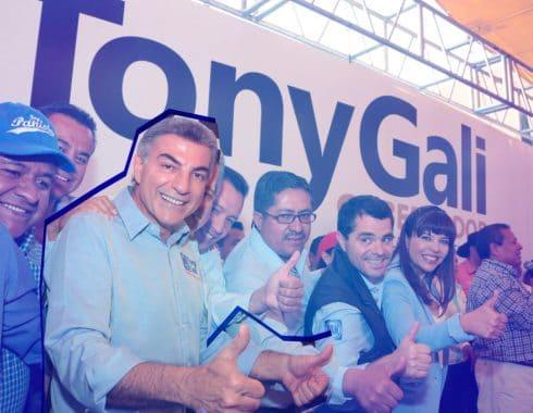 Tony Gali, presupuesto en publicidad en Puebla.