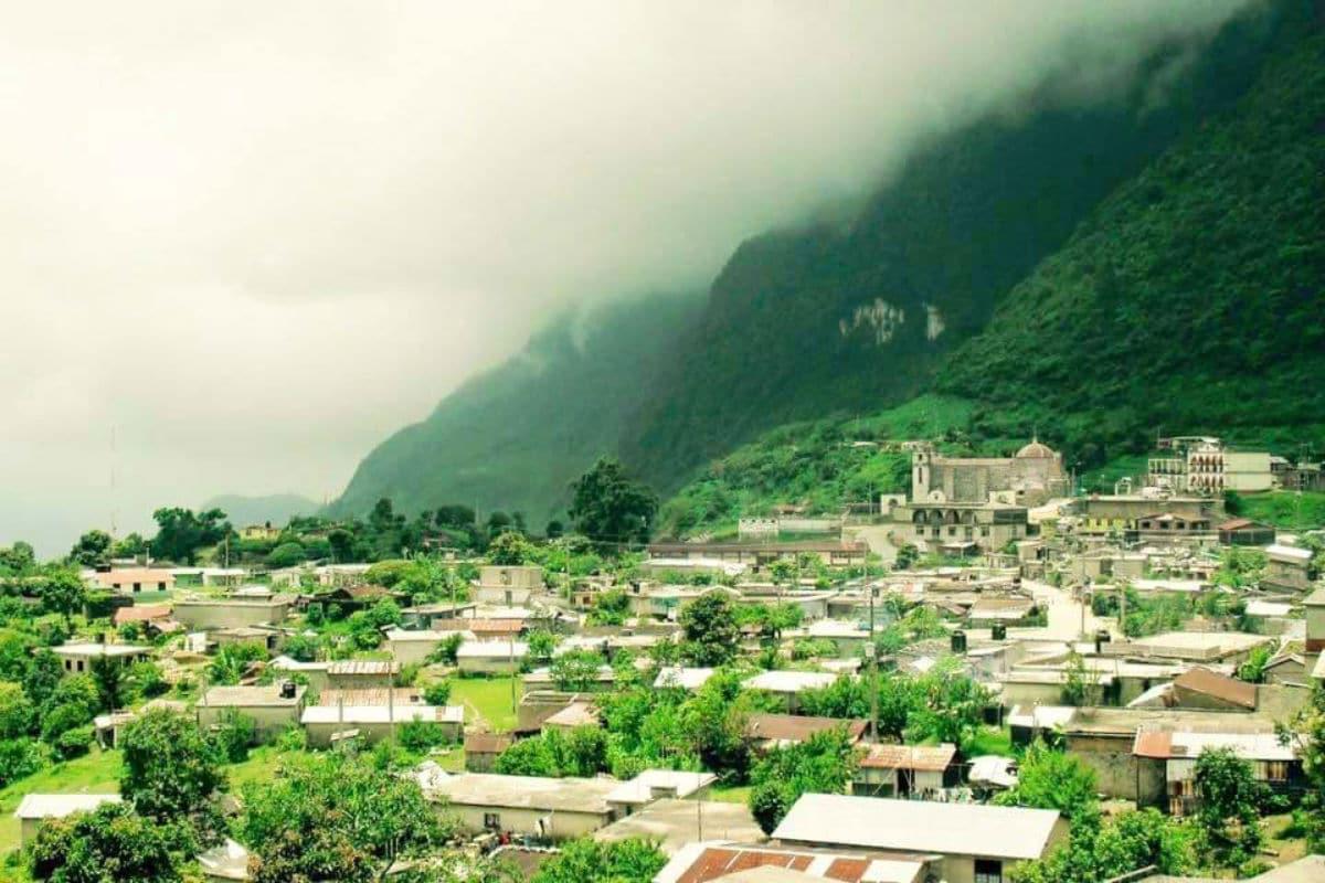 Sierra Mixe de Oaxaca.