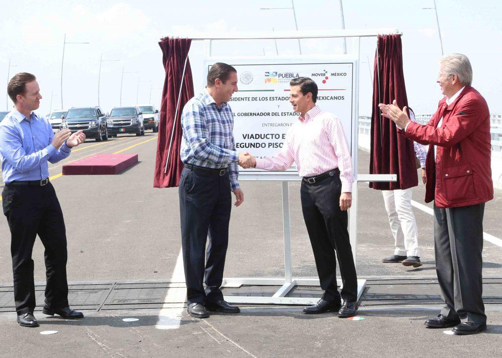 Gerardo Ruíz Esparza y Enrique Peña Nieto.