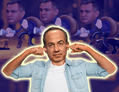 Calderón se enteró de 12 denuncias contra García Luna