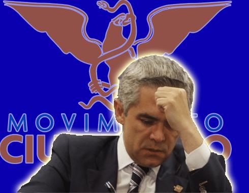 Miguel Mancera quiere huir a Movimiento Ciudadano para no perder fuero