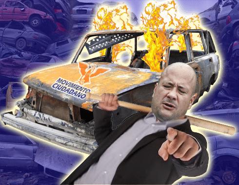Enrique Alfaro está destruyendo la imagen de Movimiento Ciudadano