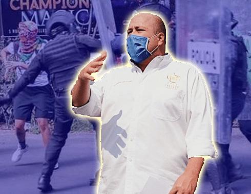 Enrique Alfaro prometió sanciones a quienes no usaran cubrebocas